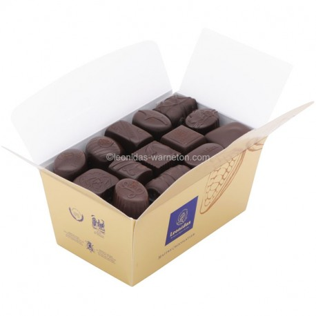 Leonidas -  Assortiment de chocolats noirs - Ballotin de 250gr - Leonidas Warneton (Belgique)