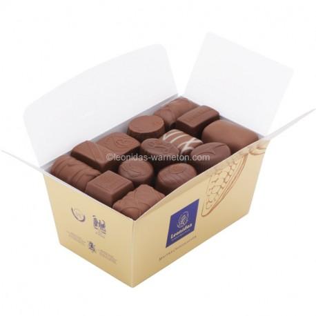 Leonidas -  Ballotin Chocolats au lait assortis - Leonidas Warneton (B)