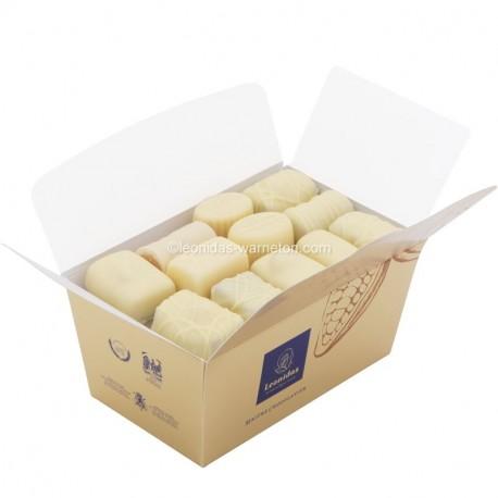 Leonidas - Ballotin - Chocolats blancs assortis - Leonidas Warneton