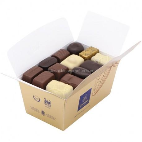 Leonidas - Ballotin Assortiment chocolats sans alcool - Leonidas Warneton (Belgique)