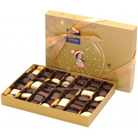 Leonidas - Coffret de Noël garni de 44 chocolats assortis - Leonidas Warneton (B)