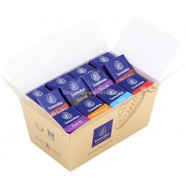Leonidas - Ballotin - Napolitains - Assortiment de chocolats Cacher (Casher, Kasher) noir, lait et blanc - Leonidas Warneton (B)