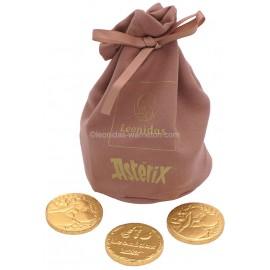 Leonidas - Bourse Astérix garnie de 30 pièces en chocolat au lait - Leonidas Warneton (B)