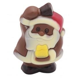 Leonidas - Père Noël en chocolat au lait coloré creux  (40gr) - Leonidas Warneton (B)