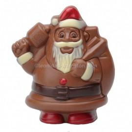 Leonidas - Père Noël en chocolat creux au lait (100gr) - Leonidas Warneton (B)
