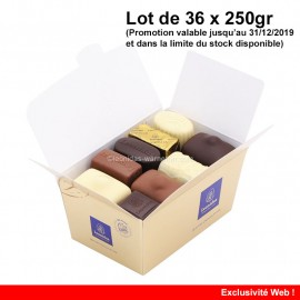 Leonidas - Lot de 36 ballotins de 250gr Mélange Tradition - Leonidas Warneton (B)
