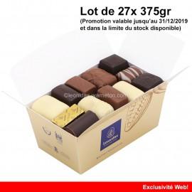 Leonidas - Lot de 27 ballotins de 375gr - Mélange Tradition - Leonidas Warneton (B)