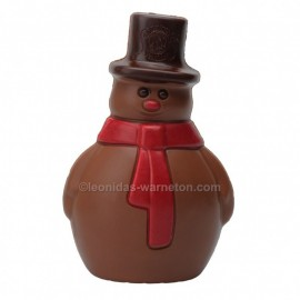 Leonidas - Bonhomme de neige en chocolat creux au lait (100gr) - Leonidas-Warneton (B)
