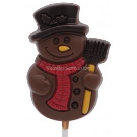Leonidas - Bonhomme de neige en chocolat au lait - Leonidas Warneton (B)