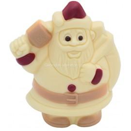 Leonidas - Père Noël en chocolat blanc (100gr) - Leonidas Warneton (B)