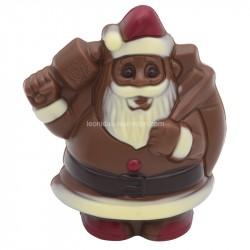 Leonidas - Père Noël en chocolat au lait coloré creux (50gr) - Leonidas Warneton (B)