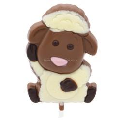 Leonidas - Sucette Mouton chocolat lait - Leonidas Warneton (B)