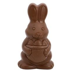Leonidas - Figurine de Pâques - Lapin chocolat au lait creux (400gr) - Leonidas Warneton (B)