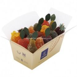 Leonidas - Assortiment de pâtes de fruits - Ballotin de 1kg - Leonidas Warneton (Belgique)