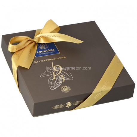 Leonidas - Coffret Héritage M Mosaïques garni de 16 chocolats assortis - Leonidas Warneton (Belgique)