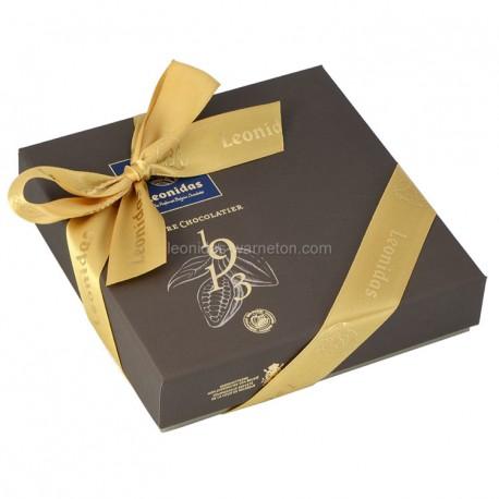 Leonidas - Coffret Héritage M Mosaïques garni de 9 chocolats assortis - Leonidas Warneton (Belgique)