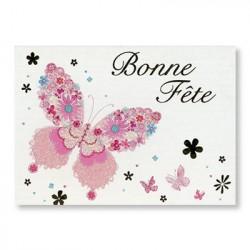 """Leonidas - Carte Message """"Bonne Fête"""" - Leonidas Warneton (Belgique)"""