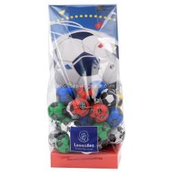 Leonidas - Sachet de 30 ballons de foot en chocolat  - Leonidas Warneton (Belgique)
