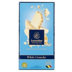 Leonidas Tablette de chocolat blanc croustillant (100gr) - Leonidas Warneton (Belgique)