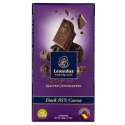 Leonidas - Tablette de chocolat noir 85% cacao (100gr) - Leonidas Warneton (Belgique)