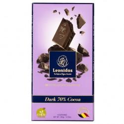 Leonidas - Tablette de chocolat noir 70% cacao (100gr) - Leonidas Warneton (Belgique)