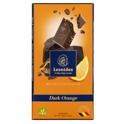 Leonidas - Tablette de chocolat noir orange (100gr) - Leonidas Warneton (Belgique)