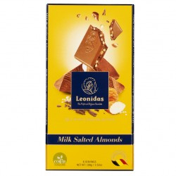 Leonidas - Tablette de chocolat au lait au caramel salé (100gr) - Leonidas Warneton (Belgique)