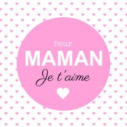 """Leonidas - Carte Message """"Pour Maman. Je t'aime"""" - Leonidas Warneton (Belgique)"""