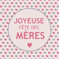 """Leonidas - Carte Message """"Joyeuse Fête des Mères"""" - Leonidas Warneton (Belgique)"""