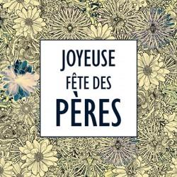 """Carte """"Joyeuse Fête des Pères"""" - Leonidas Warneton (Belgique)"""