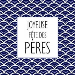 Carte Joyeuse Fête des Pères - Leonidas Warneton (Belgique)