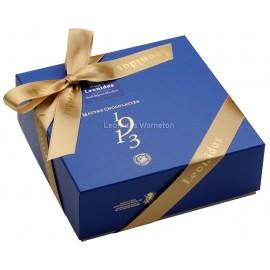 Coffret Santiago (B) garni de 32 chocolats Leonidas