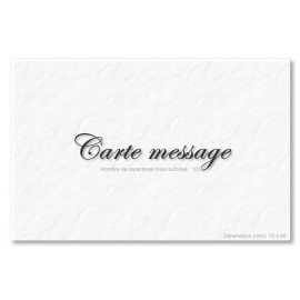 Carte message