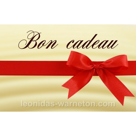 bon cadeau leonidas warneton belgique boutique aux chocolats. Black Bedroom Furniture Sets. Home Design Ideas