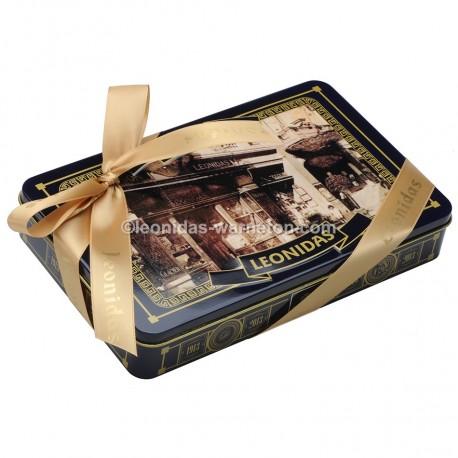 "Leonidas Coffret métal ""1913"" garni de 20 chocolats assortis - Leonidas Warneton (B)"