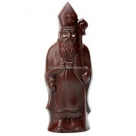 Leonidas - Saint Nicolas en chocolat noir creux (100gr) - Leonidas Warneton (B)