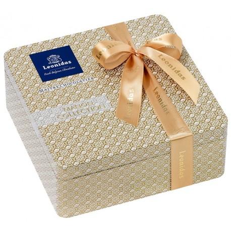 Leonidas - Coffret cadeau en métal garni de 40 chocolats assortis - Leonidas Warneton (B)