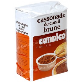 Cassonade brune Candico