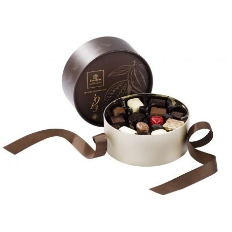 Coffret Dora garni de 22 chocolats assortis - Leonidas Warneton