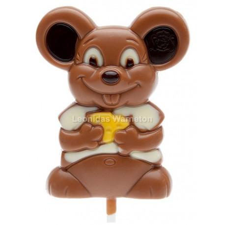 Souris en chocolat Leonidas