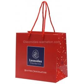 Sac cadeau Leonidas spécial Noël