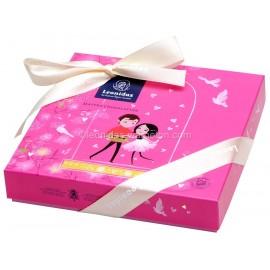 Coffret de Saint Valentin de 16 chocolats Leonidas