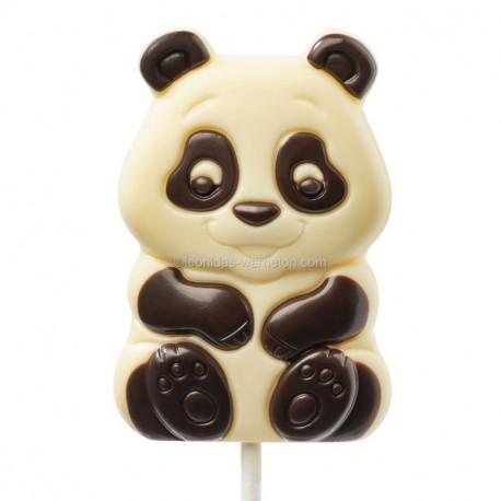 Leonidas - Sucette - Panda en chocolat blanc - Leonidas Warneton