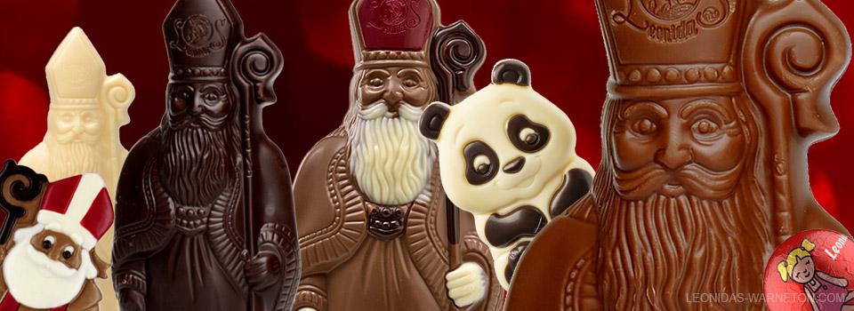 Notre collection chocolatée de Saint Nicolas