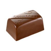 Leonidas - Chocolat au lait - Lingot vanille - Leonidas Warneton (B)