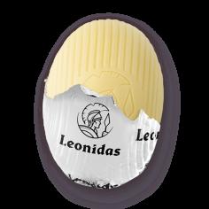 Leonidas - Petit oeuf en chocolat blanc -  Leonidas Warneton (Belgique)