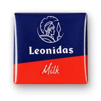 Leonidas - Napolitain - Chocolat au lait - Leonidas Warneton (Belgique)