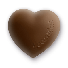 Leonidas - Crème confiseur - Coeur Vanille - Leonidas Warneton (Belgique)