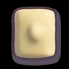 Leonidas - Crème au beurre - Manon avec noisette - Leonidas Warneton (Belgique)