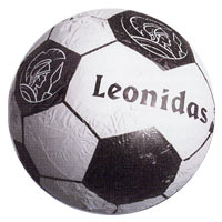 Leonidas - Ballon de foot en chocolat - Leonidas Warneton (Belgique)